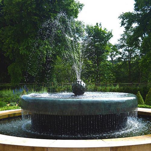 house water fountain photo