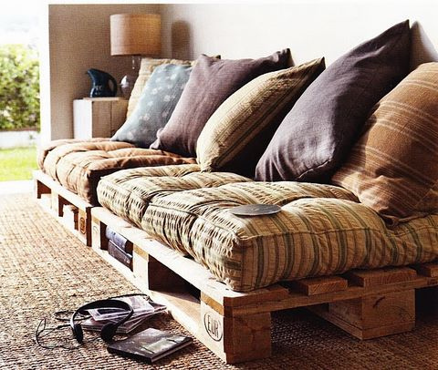 pallet furniture photo