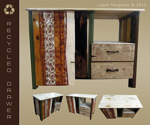 recycled furniture photo